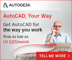 AutoCAD As Low As $117/month