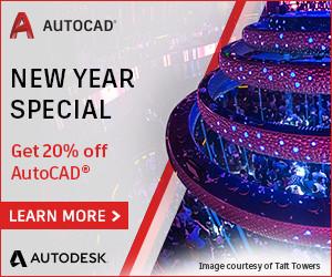 AutoCAD 20% off