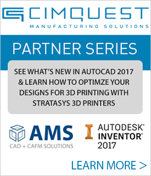The latest in Autodesk Inventor 2017 and 3D Printing Technologies: Live Event